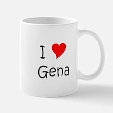 Cute I love gena Mug