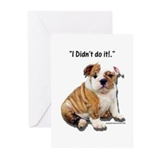 I Didn't Do It Greeting Cards (Pk of 10)