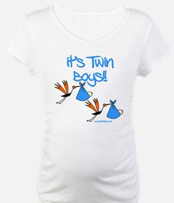 It's Twin Boys with Storks Shirt