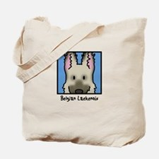 Anime Belgian Laekenois Tote Bag