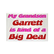 My Grandson Garrett - Big Dea Rectangle Magnet