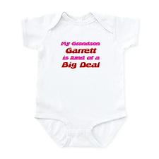 My Grandson Garrett - Big Dea Infant Bodysuit