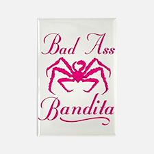 Bad Ass Bandita Rectangle Magnet