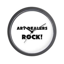 Art Dealers ROCK Wall Clock