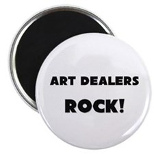 Art Dealers ROCK Magnet