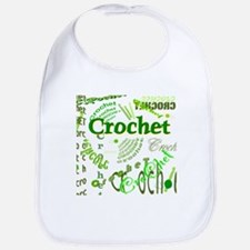 Crochet Green Bib