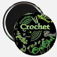 Crochet Green Magnet