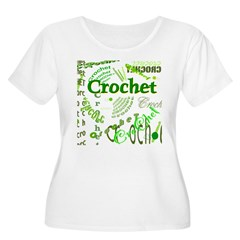 Crochet Green T-Shirt