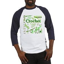 Crochet Green Baseball Jersey