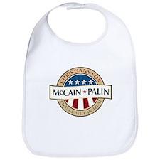 Christians for McCain Palin Bib