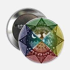"Elemental Mandala 2.25"" Button"