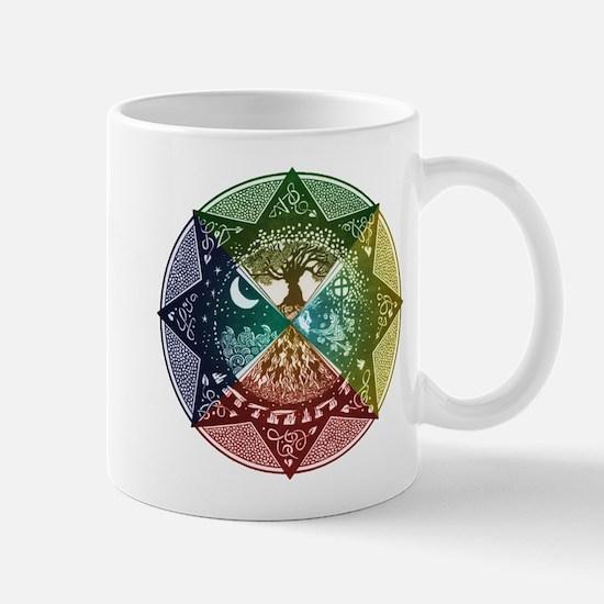 Elemental Mandala Mug
