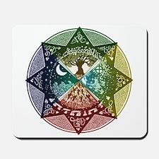 Elemental Mandala Mousepad