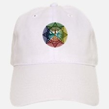 Elemental Mandala Baseball Baseball Cap