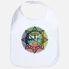 Elemental Mandala Bib
