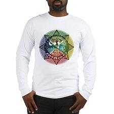 Elemental Mandala Long Sleeve T-Shirt