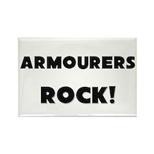 Armourers ROCK Rectangle Magnet
