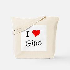 Funny Gino Tote Bag
