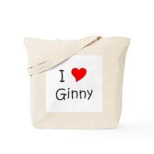 Cute Ginny Tote Bag