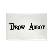 Drow Abbot Rectangle Magnet (10 pack)