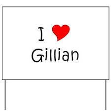 Gillian Yard Sign