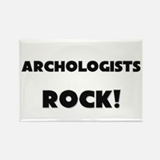 Archologists ROCK Rectangle Magnet