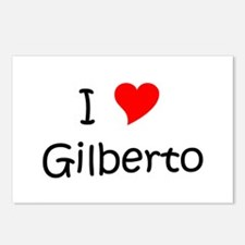 Cute Gilberto Postcards (Package of 8)