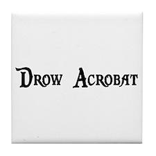 Drow Acrobat Tile Coaster