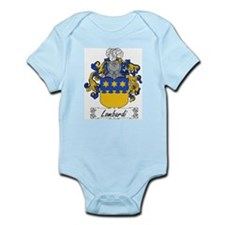 Lombardi Family Crest Infant Creeper