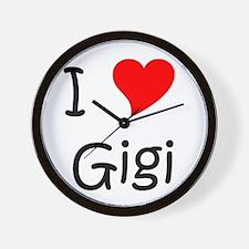 Funny Gigi name Wall Clock