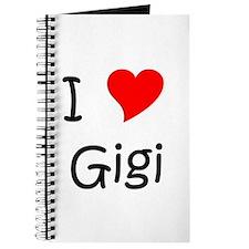 Unique I love gigi Journal