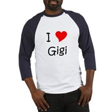 Unique I love gigi Baseball Jersey