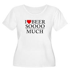 I Love Beer Soooo Much T-Shirt