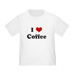 I Love Coffee T