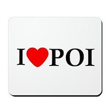 I Love Poi Mousepad