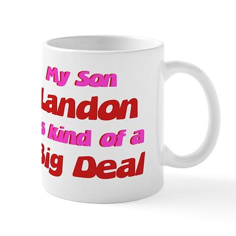 My Son Landon - Big Deal Mug