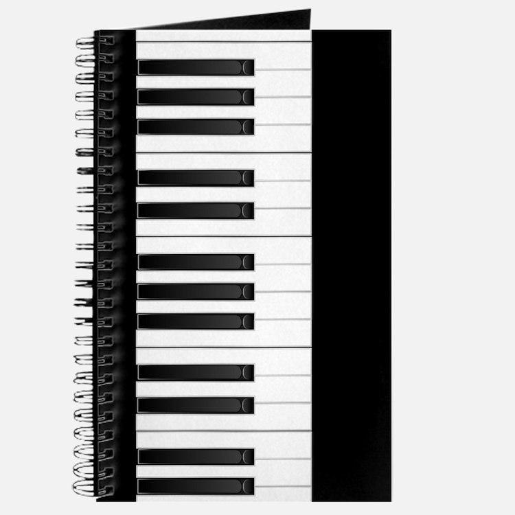 Keyboard (black) Journal