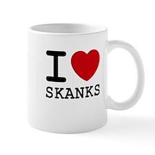 I heart skanks Mug