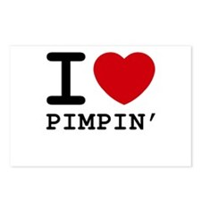 I heart pimpin' Postcards (Package of 8)