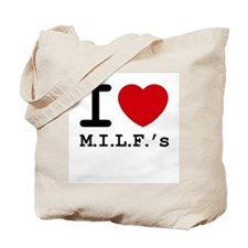 I heart M.I.L.F.'s Tote Bag