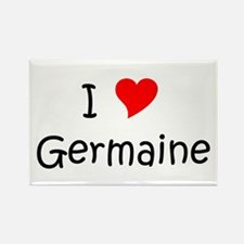 Funny Germaine Rectangle Magnet