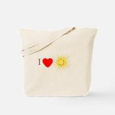 I Love Happy Sunshine Tote Bag