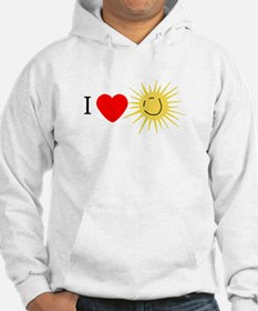I Love Happy Sunshine Hoodie