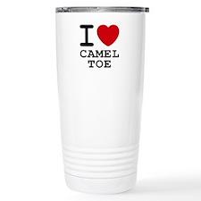 I heart camel toe Travel Mug