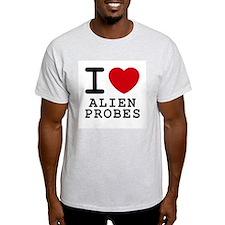 I heart alien probes T-Shirt