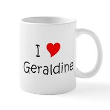Funny Name geraldine Mug