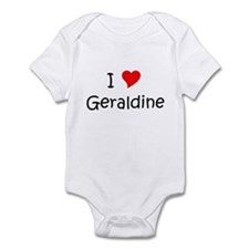 Unique Name geraldine Infant Bodysuit