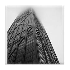 Chicago Hancock Tower Tile Coaster