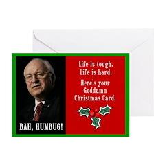 Cheney Goddamn Greeting Cards (Pk of 10)