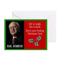 20 Pack of Cheney F'ing Christmas Cards